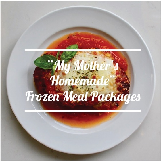 My Mother's Frozen Meal Packages