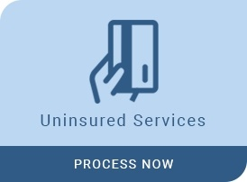 uninsured services