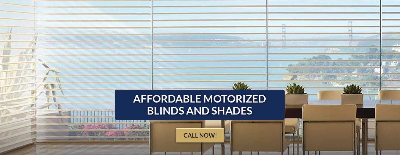 Custom Motorized Window Blinds san diego