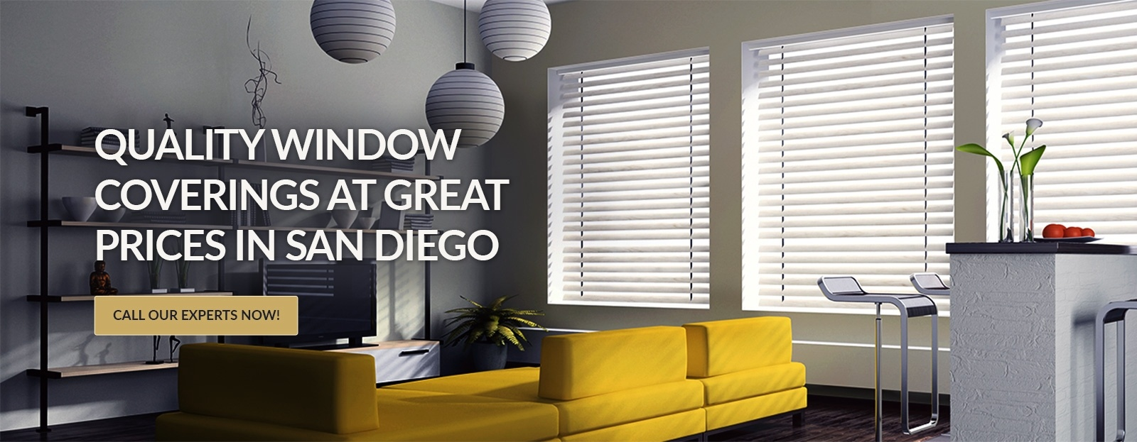 Window treatment company san diego