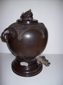 Chinese Antique Hot Water Samovar