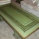 Buy Vintage Green Carved Wood Coffee Table Online at Give Me Shelter Design