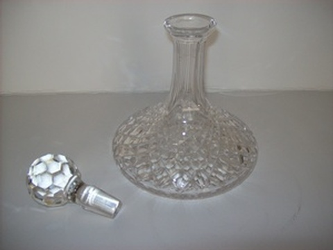 Crystal Wine Decanter - Buy Home Decor Accents Online California at Give Me Shelter Design