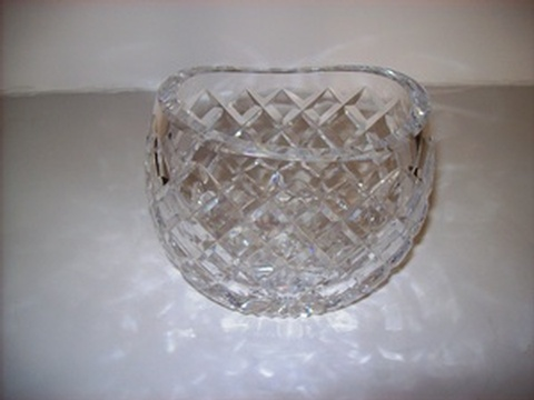 Vintage Small Crystal Vase at Give Me Shelter Design