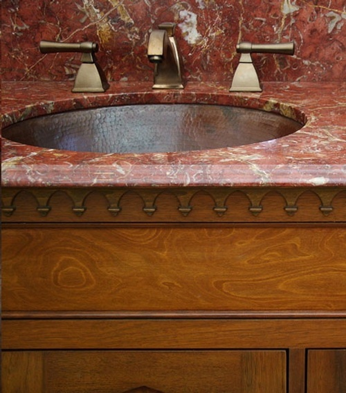 Vanity Sink - Interior Design Services Los Angeles CA by Give Me Shelter Design