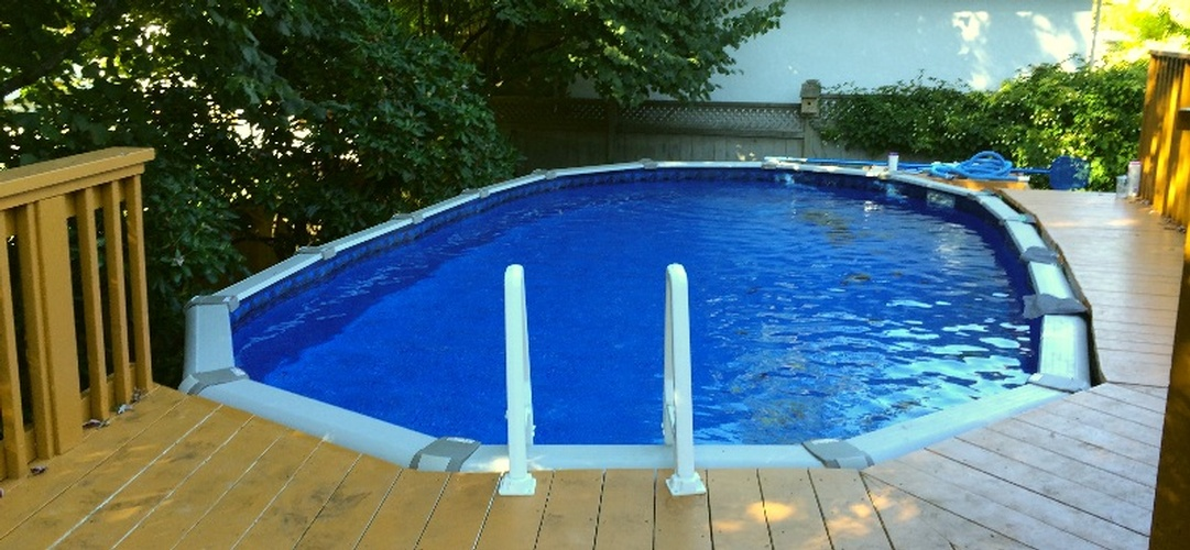 Above Ground Swimming Pool Installation North Vancouver