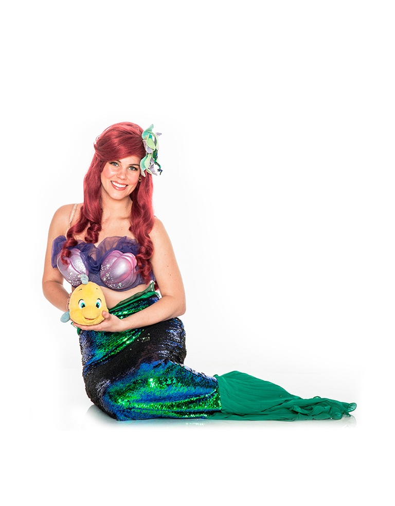 little mermaid fin princess party toronto milton oshawa