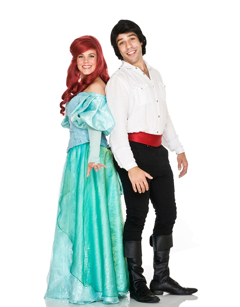 mermaid prince princess royal couple entertainment parties toronto milton oshawa