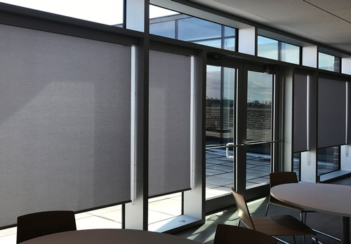 EN3 Sunprotection, Interior, DynamicLift, Roller Shade, EcoWeave, Commercial
