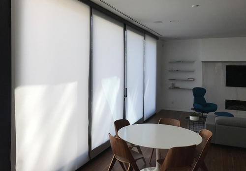8 EN3 Sunprotection, Interior, Motorized, Roller Shade, Building Automation, Commercial, University site, 2018