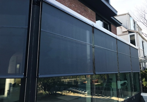 3 EN3 Sunprotection, Exterior, Motorized, Roller Shade, Building Automation, Residential, 2018 X