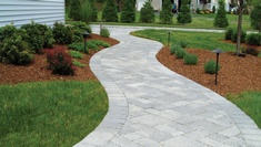 Walkway Landscaping in Calgary AB by Ornamental Landscape Maintainers Ltd.