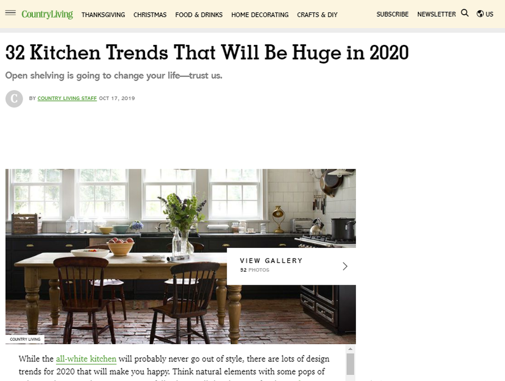 32 Kitchen Trends for 2020 - New Cabinet and Color Design Ideas (2).png
