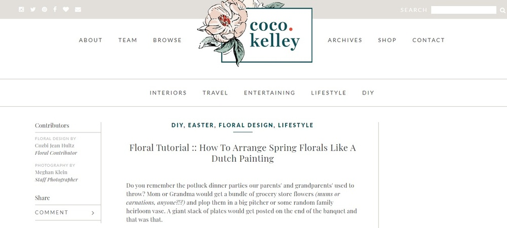 Floral Tutorial    How To Arrange Spring Flowers Like A Dutch Painting coco kelley.jpg