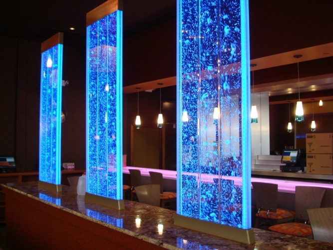 Flaunt Interiors | Products | Panels | Water bubble walls