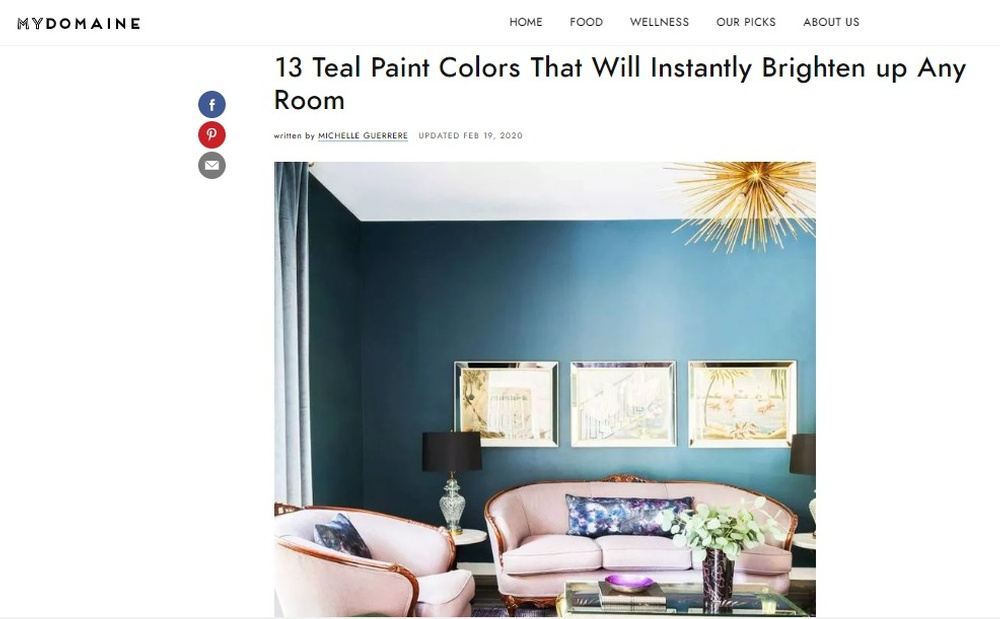 The 13 Best Teal Paint Colors to Add Drama to Any Room.jpg