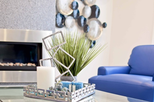 Decorating & accessorizing for Mactaggart home