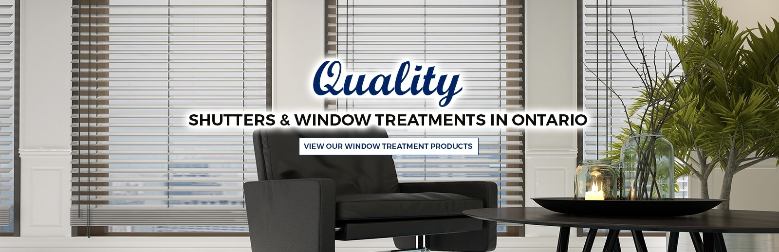 Window treatment company Vaughan ON