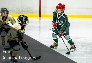 Fun  4-on-4 Leagues