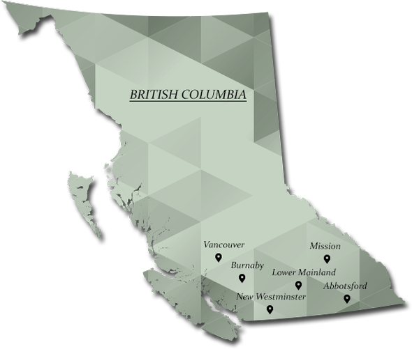 Sugar Mountain Catering Company in Vancouver, BC Map