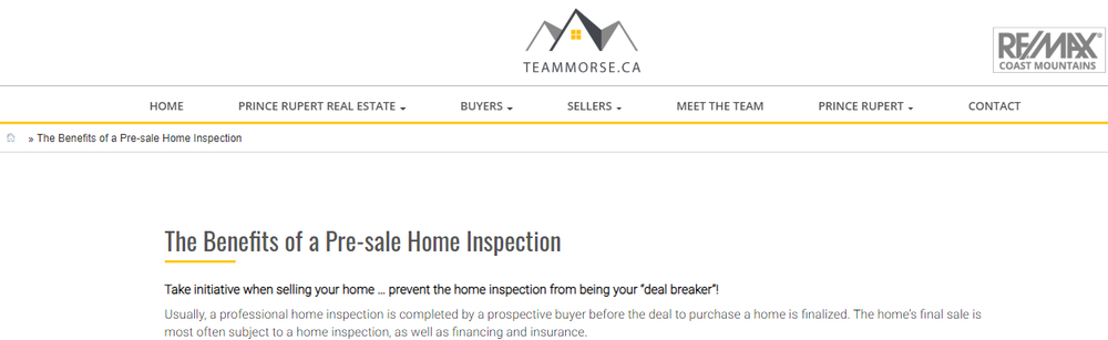 The Benefits of a Pre-sale Home Inspection - Real Estate.png