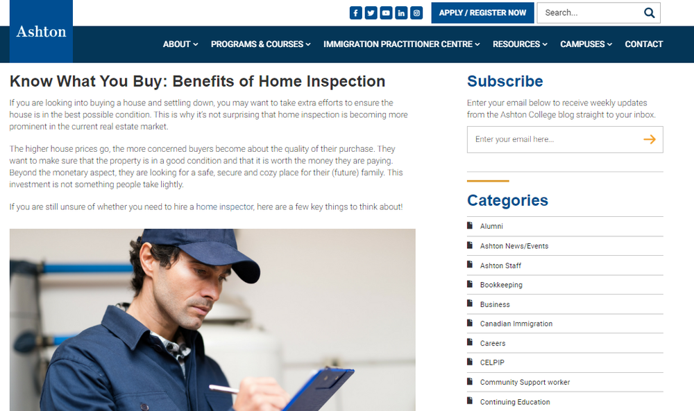 Know What You Buy  Benefits of Home Inspection - Ashton College.png