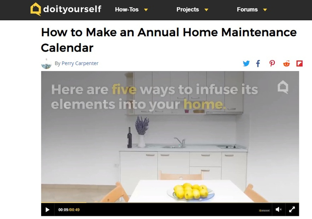 How to Make an Annual Home Maintenance Calendar   DoItYourself com.jpg