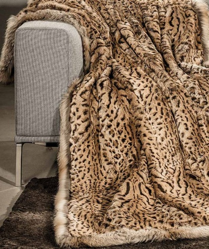 fur throws New York