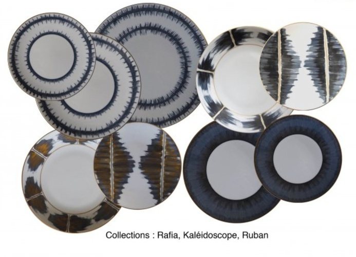 Marie Daage Porcelain Tableware Collection at The Silver Peacock Inc