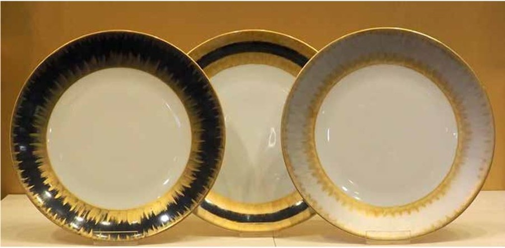Marie Daage Porcelain Tableware Collection by The Silver Peacock Inc