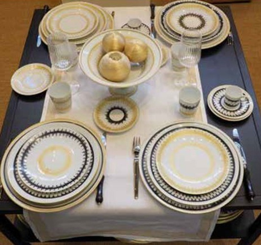 Porcelain Luxury Tableware at The Silver Peacock Inc