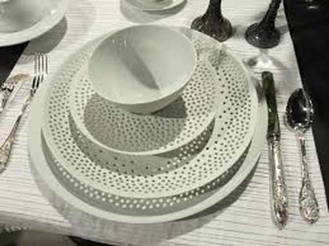 Hering Berlin Cielo Dinnerware Collection at The Silver Peacock Inc
