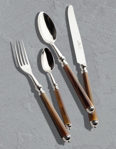 Alain Saint Joanis Marbella Silver Plated Cutlery Set at The Silver Peacock Inc