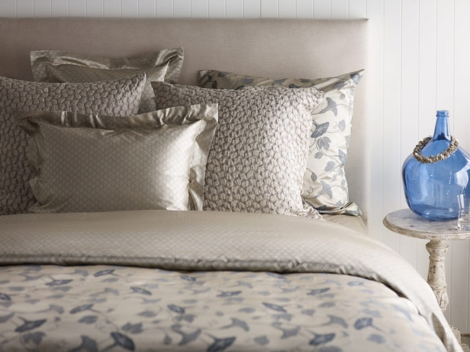 Luxury Bed Sheets and Pillow Covers at The Silver Peacock Inc
