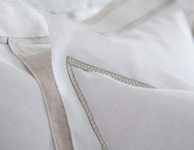 Luxury Fine Italian Linens at The Silver Peacock Inc