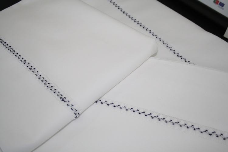 Finest Luxury Linens for bed at The Silver Peacock Inc