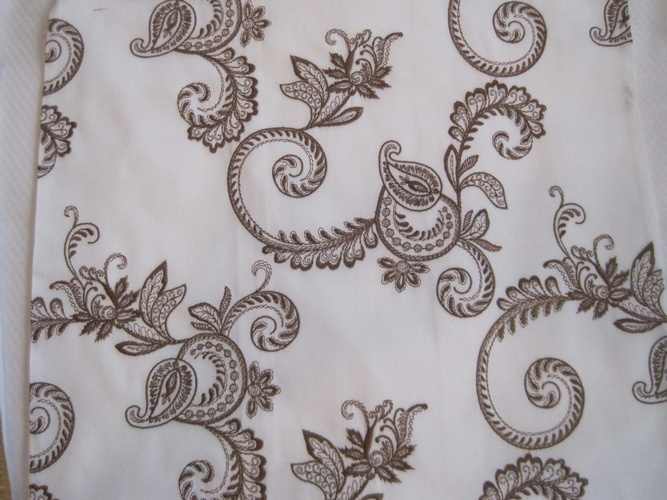 Hand Embroidered Custom Table Linens at The Silver Peacock Inc