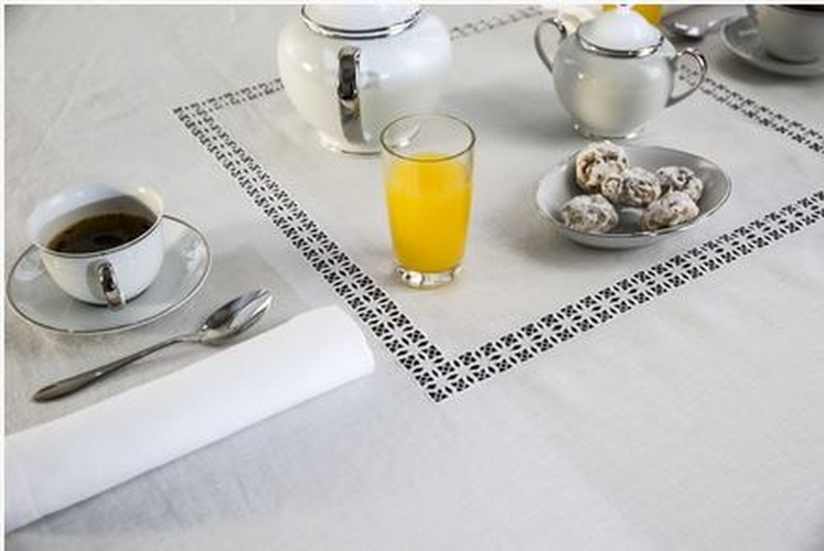 Luxury Table Linens at The Silver Peacock Inc