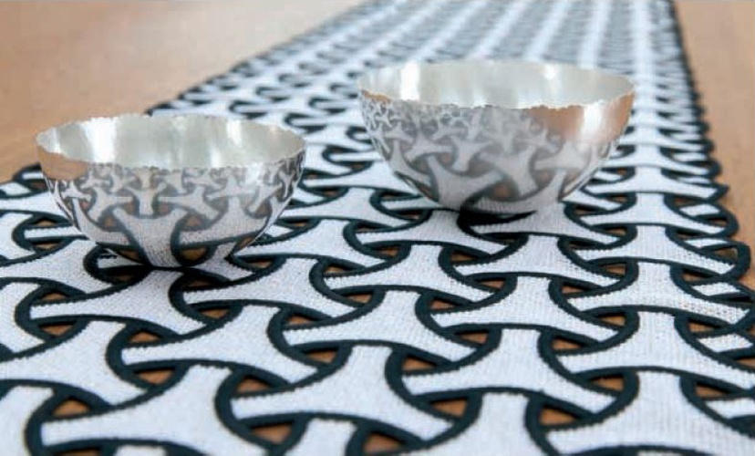 Luxury Table Runners and Accesories at The Silver Peacock Inc