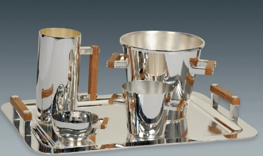 Silver  Barware Collection at The Silver Peacock Inc