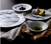 Hering Berlin Porcelain Luxury Tableware with food at The Silver Peacock Inc