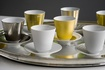 Luxury Hering Berlin coffee cups and saucers at The Silver Peacock Inc