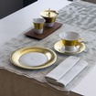 Hering Berlin Polite Gold Dinnerware Collection at The Silver Peacock Inc