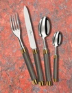 Alain Saint Joanis -  The Carla Carbon Range of Flatware at The Silver Peacock Inc