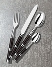 Alain Saint Joanis Black Flatware at The Silver Peacock Inc