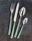 The Wave Almond Range of Silver Plated Flatware at The Silver Peacock Inc