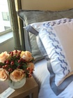 Luxury Handmade Linen Throw Pillow - Tailored Linens at The Silver Peacock Inc