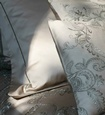 Fine Cotton Pillows with Lace - Interior Designer Resource at The Silver Peacock Inc