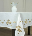 Luxury  Table Linens and Accessories at The Silver Peacock Inc