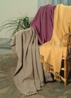 Custom Handwoven Throws and Blankets - Cashmere Blankets at The Silver Peacock Inc